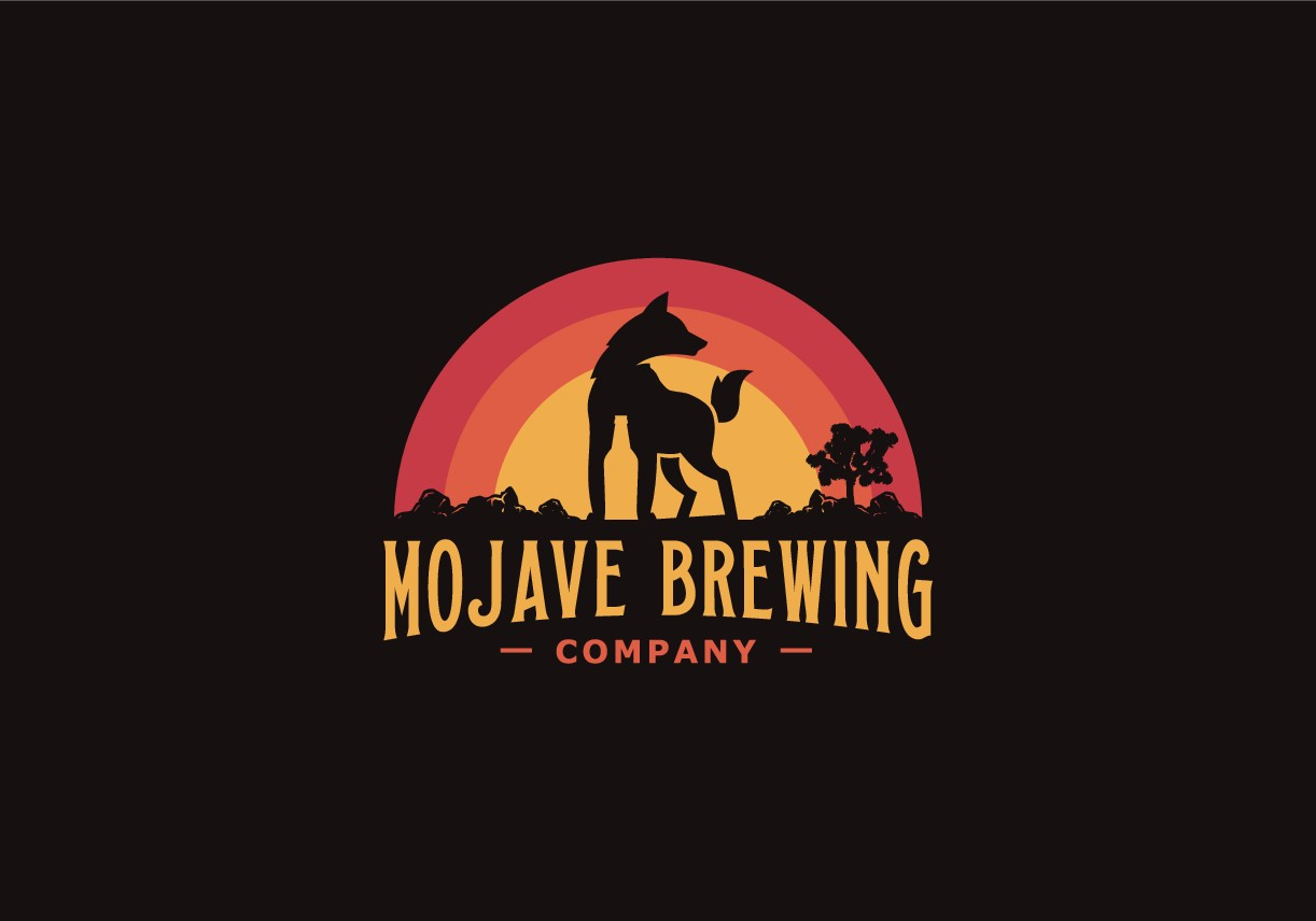 Mojave Brewing Company Circle Logo