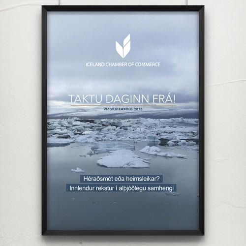 Iceland Poster Design