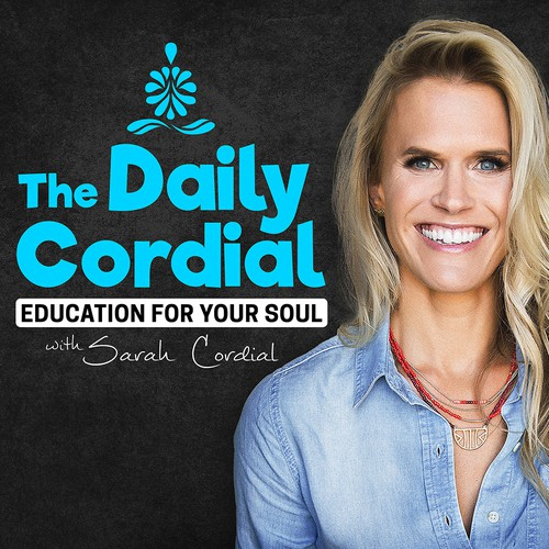 Sarah Cordial Podcast Cover Concept