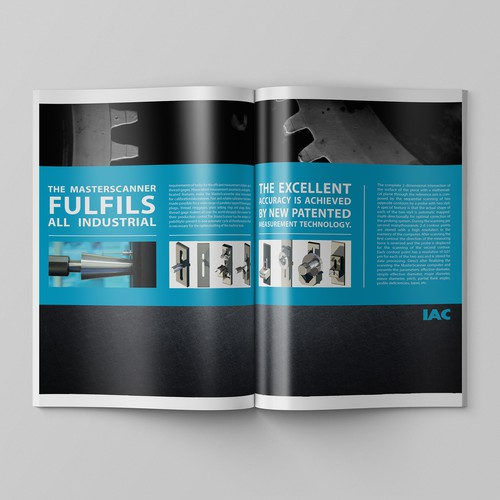 Create a Clean and Modern Technical Product Info Booklet