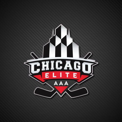 Logo Concept for Chicago Elite Hockey