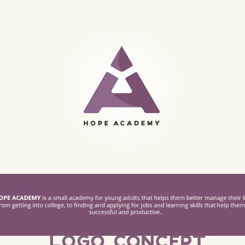 Hope academy logo contest entry