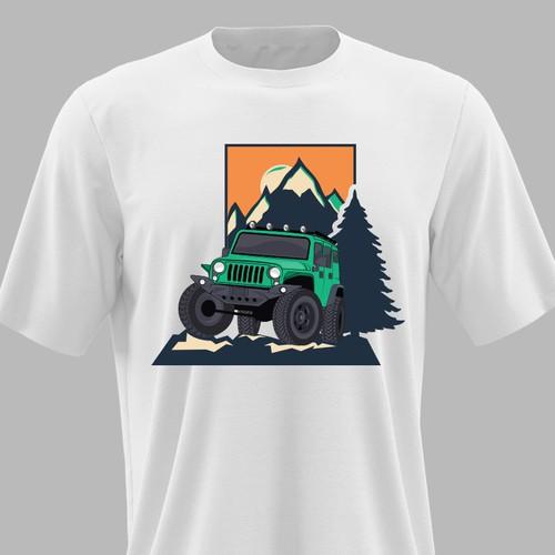 t shirt design for outlander vehicle