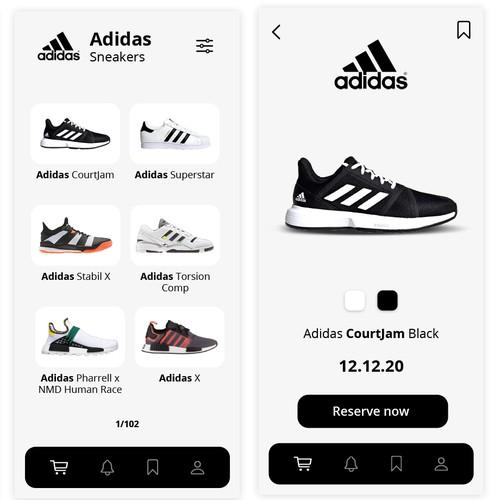Shoes reserve App