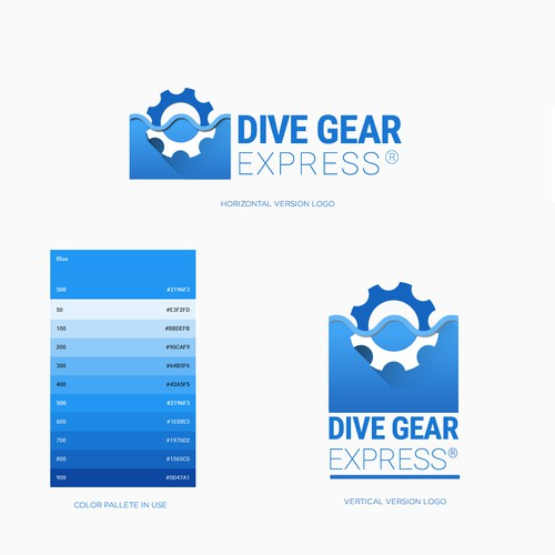 Dive Gear logo