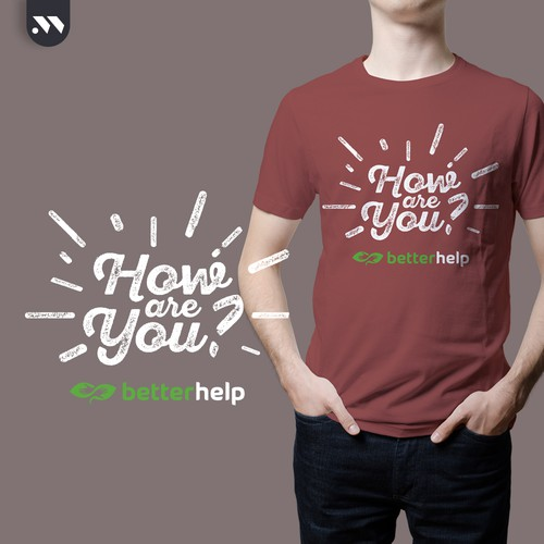 T-Shirt design for betterhelp