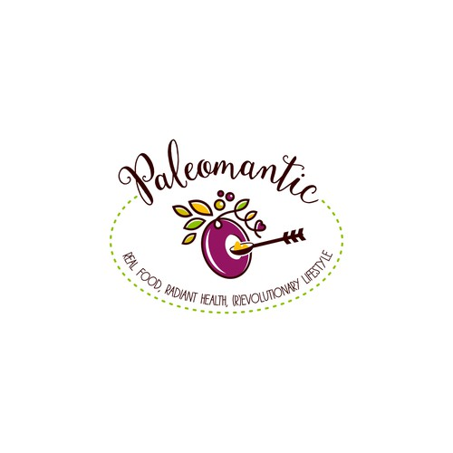 Unique logo for a Paleo Blog