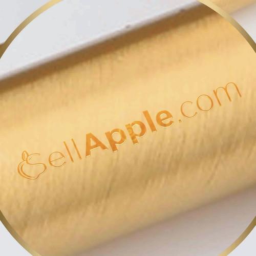 logo concept for sellapple.com