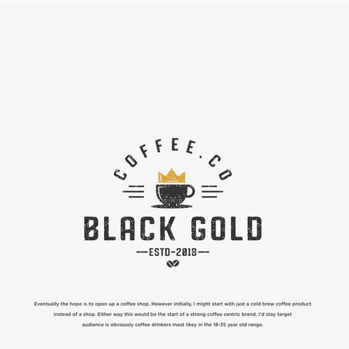 Design an eye-catching logo for Cold Brew Coffee Co/Coffee Shop