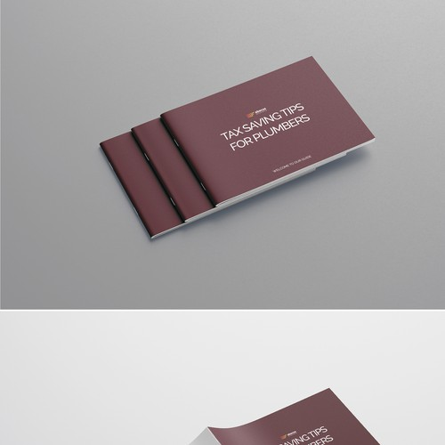 Bold, simple, clean brochure design