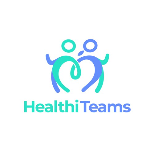 Clever logo for fitness team