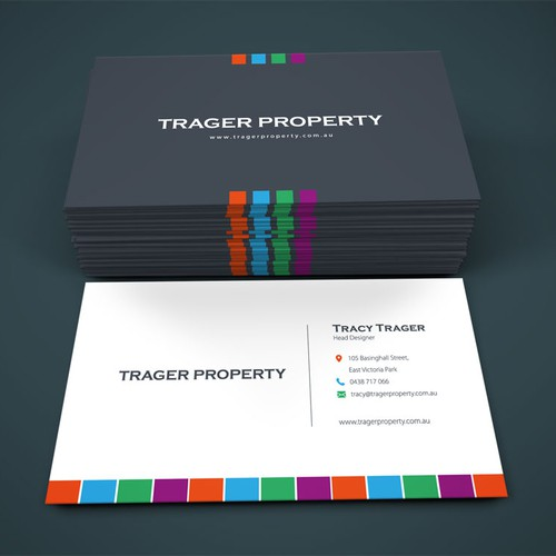 Business Card for Trager Property