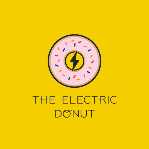 Logo for donut place