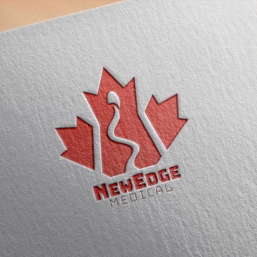 Logo concept for NewEdge Medical