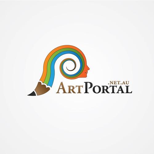 logo for ART PORTAL