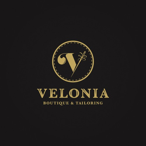 Logo for Velonia boutique and tailoring