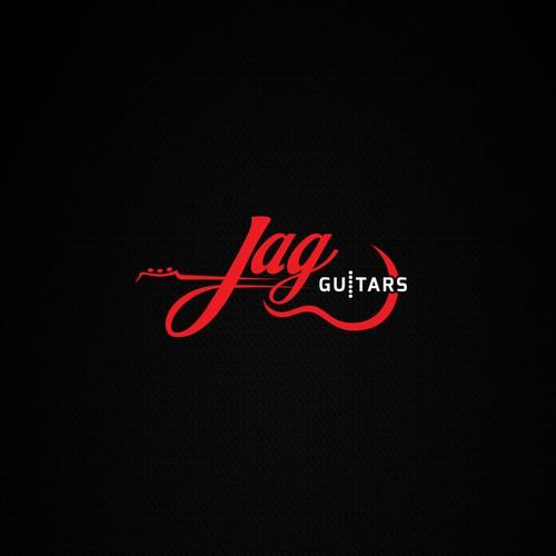 Logo concept for Jag Guitars.