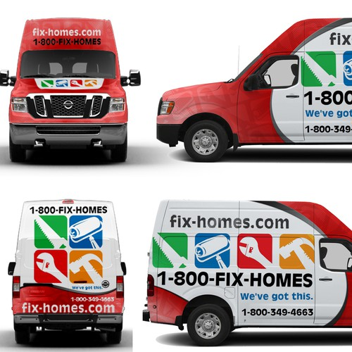 Fix-Homes Vehicle Wrap