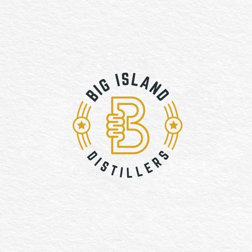 Big Island Distillers Logo Design