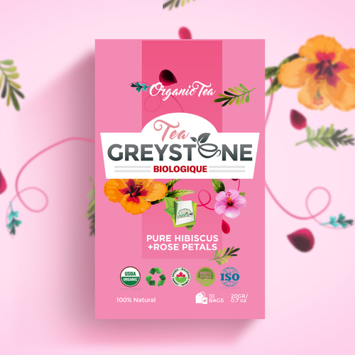 Tea Label Packaging