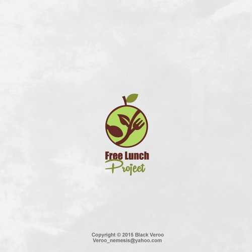 Create a bold, simple logo showing there IS such a thing as a FREE LUNCH