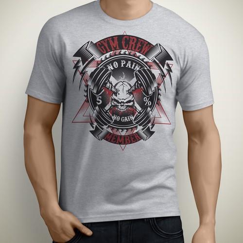 Gym Crew Member T-shirt contest