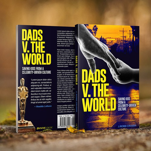 Book cover for Dads v. The World