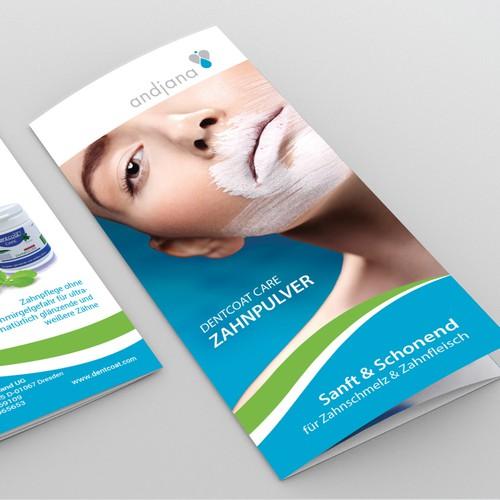Clean Brochure Design for Andjana