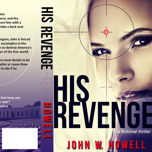 Book cover for a thriller novel