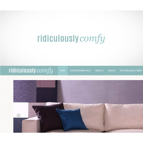 Logo For Ridiculously Comfy Website