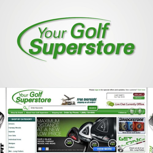 Logo for Your Golf Superstore