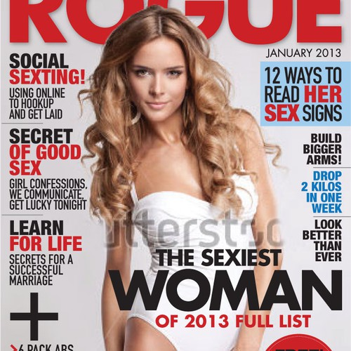 Magazine Cover for Rogue