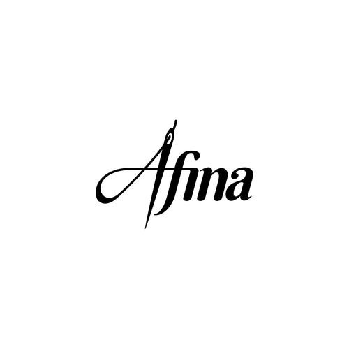 logo concept for Afina