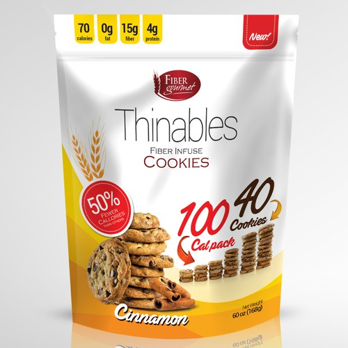 Fiber Filled Low Calorie Cookies