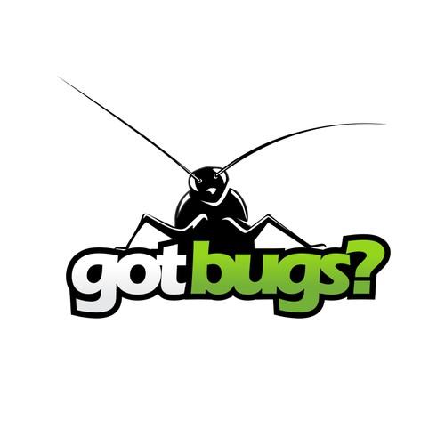 Bold logo concept for mosquito