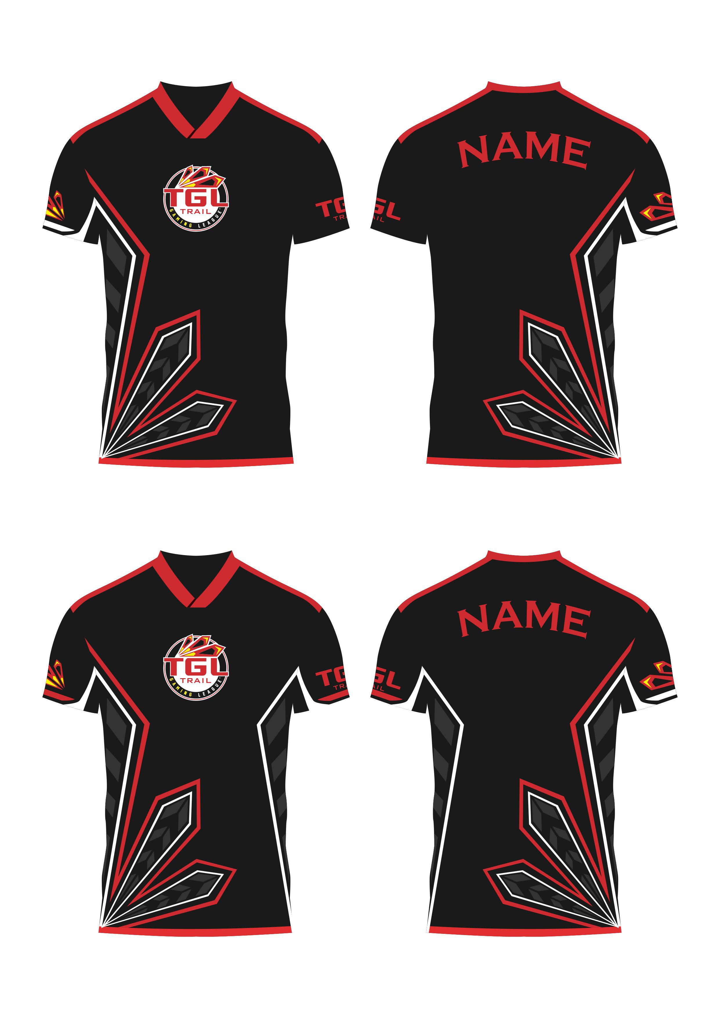 Jersey for E-Sports Team