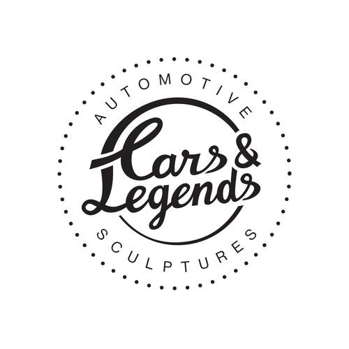 Logo concept for a 3D artist