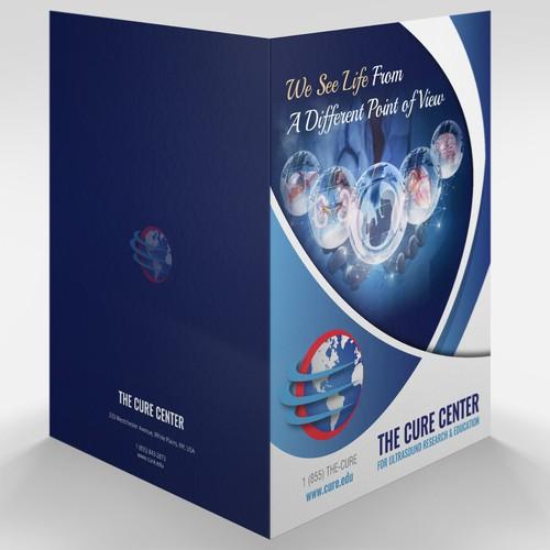 Folder Design for The Cure Center