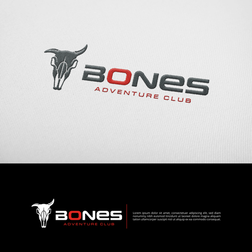 Logo for BONES adventure racing