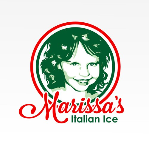 ITALIAN ICE...cool and colourful dessert company logo