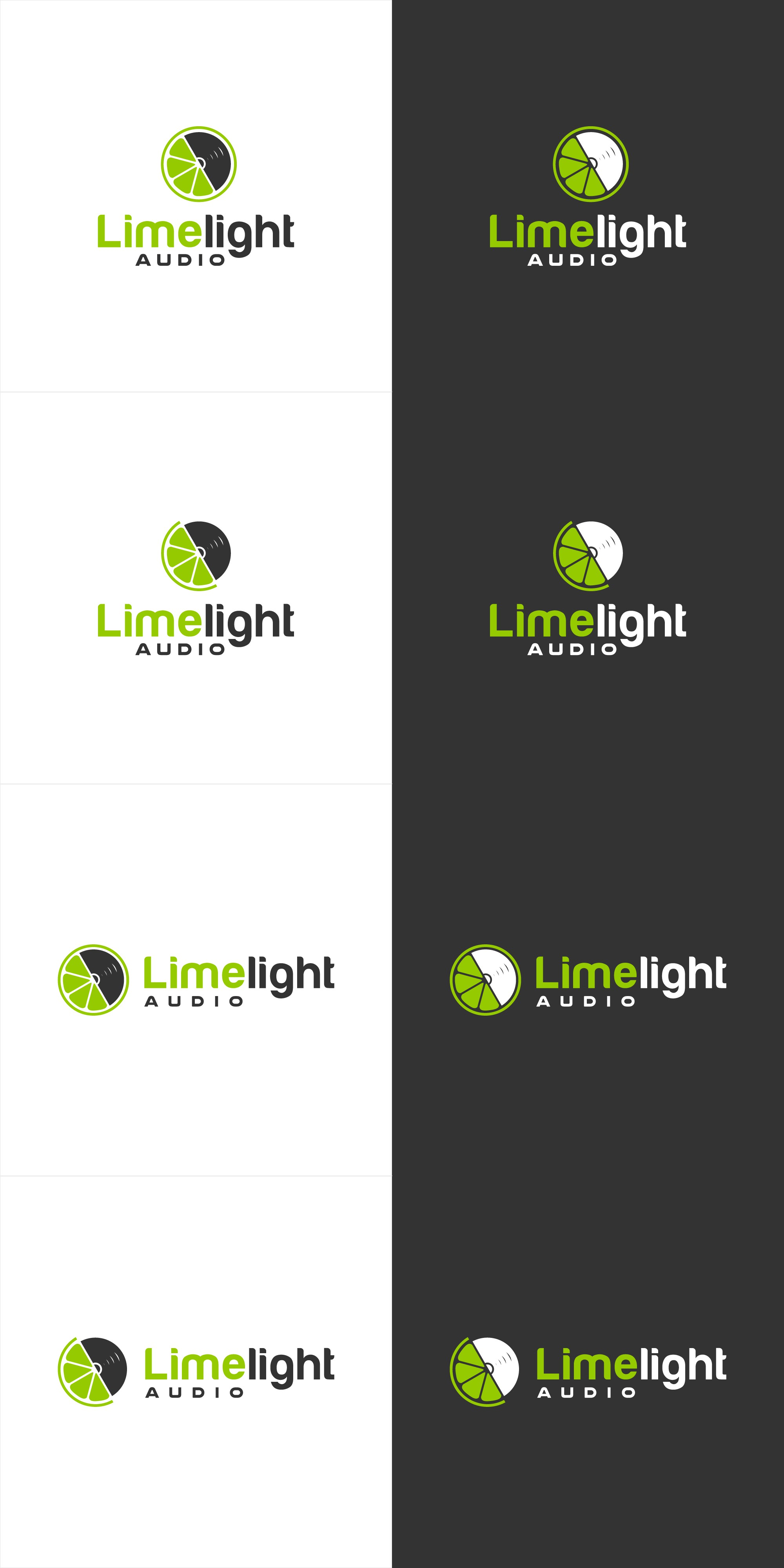 Design a killer logo for Limelight Audio!