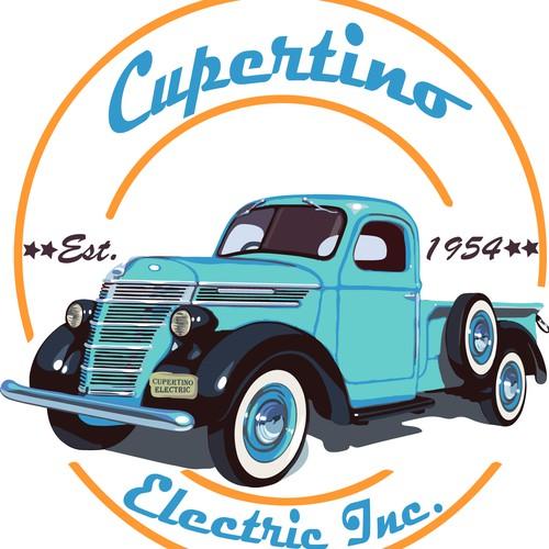 Retro Truck Restored By A company