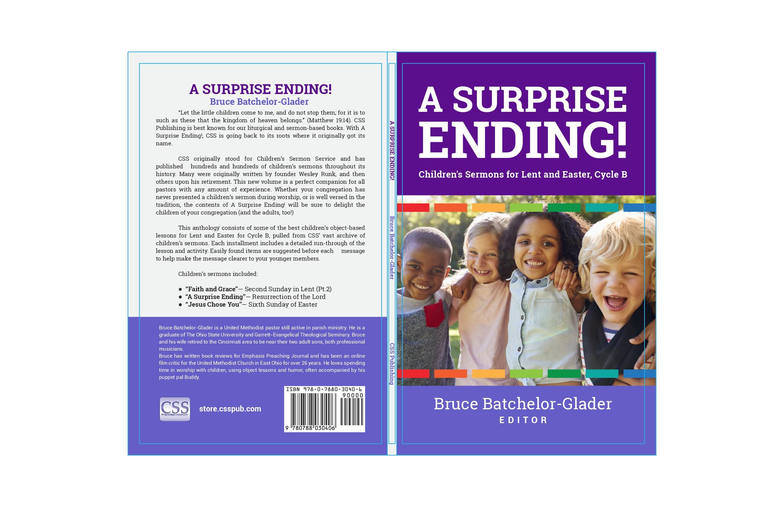 Book Cover Design Needed for Children's Sermon's Book - A Surprise Ending!