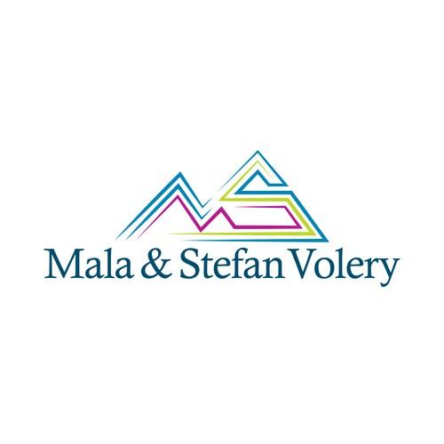 My Logo Concept for Mala & Stefan Volery