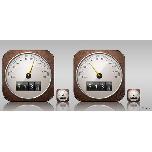 App Icon Design for MileBug by Izatt International