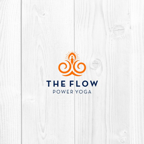 The Flow logo design