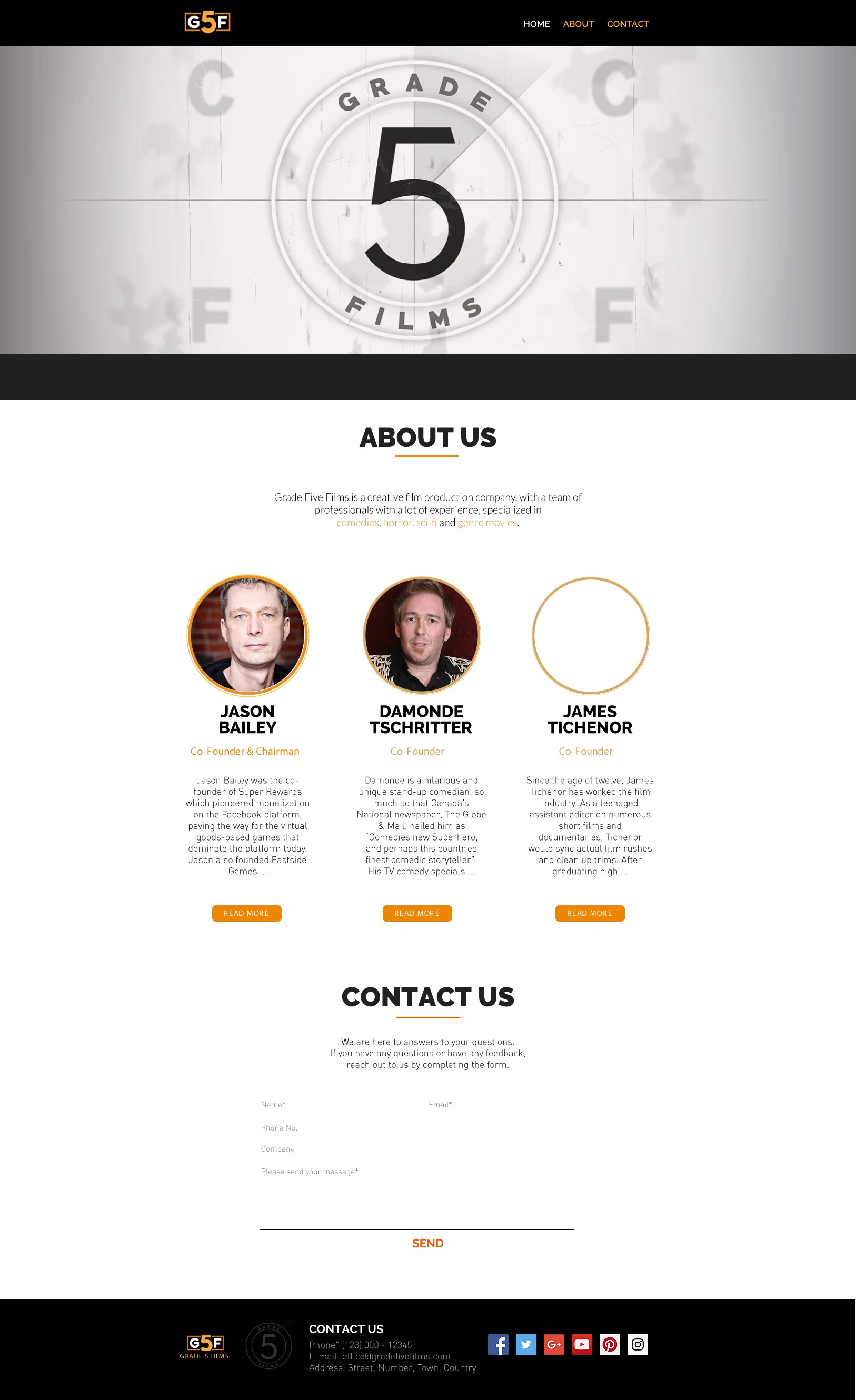 Design our website based on previous branding