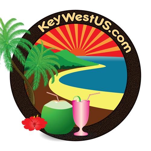 Create a logo for KeyWestUS.com