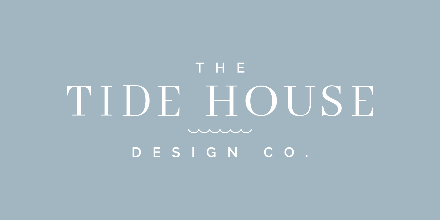 The Tide House Design Co. for interior design by the sea.