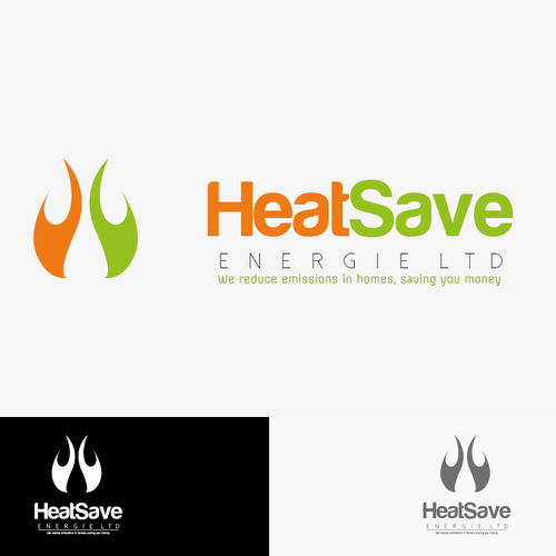 logo concept for heatsave